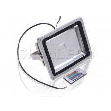 Светодиодный прожектор 30W, IP65, 220V, RGB