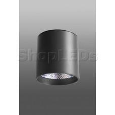 Накладной светодиодный светильник DM-179 (25W, 4100K, 100*100, черный корпус)